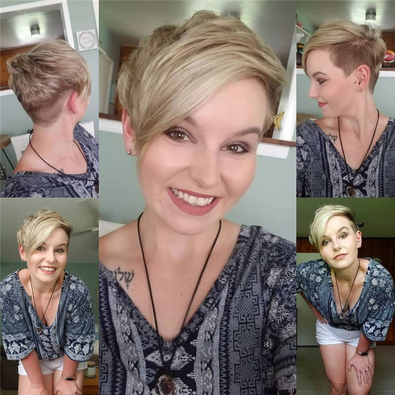 Amazing Easy Pixie Haircuts for Round Faces 30
