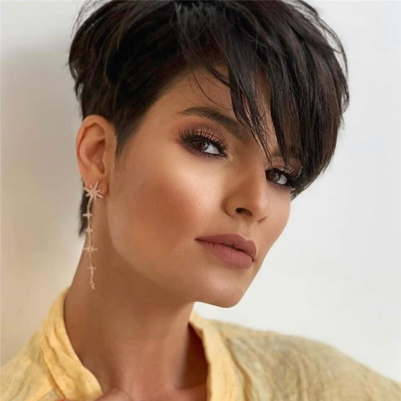 Amazing Easy Pixie Haircuts for Round Faces 33