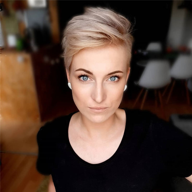 Amazing Easy Pixie Haircuts for Round Faces 37