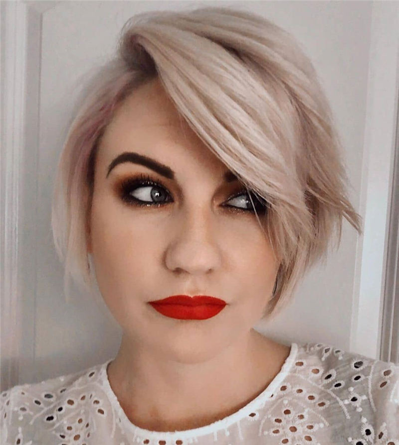 Amazing Easy Pixie Haircuts for Round Faces 39