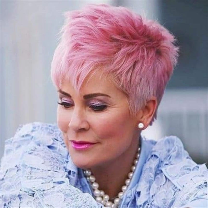 Amazing Easy Pixie Haircuts for Round Faces 47
