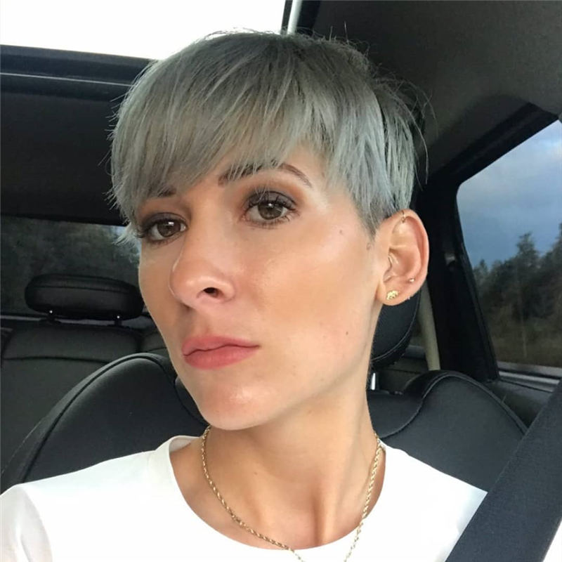 Amazing Easy Pixie Haircuts for Round Faces 48