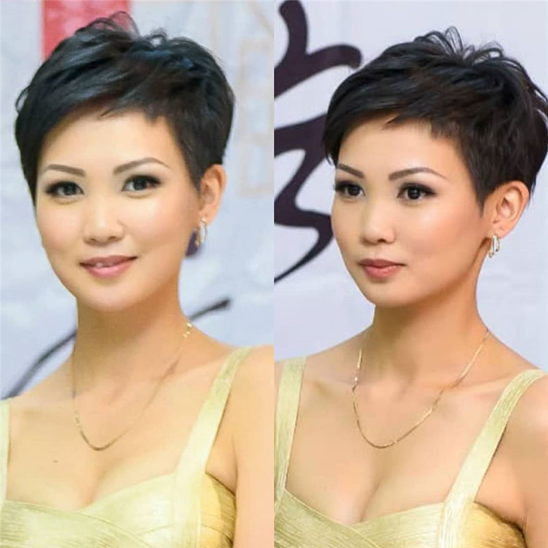 Amazing Easy Pixie Haircuts for Round Faces 50