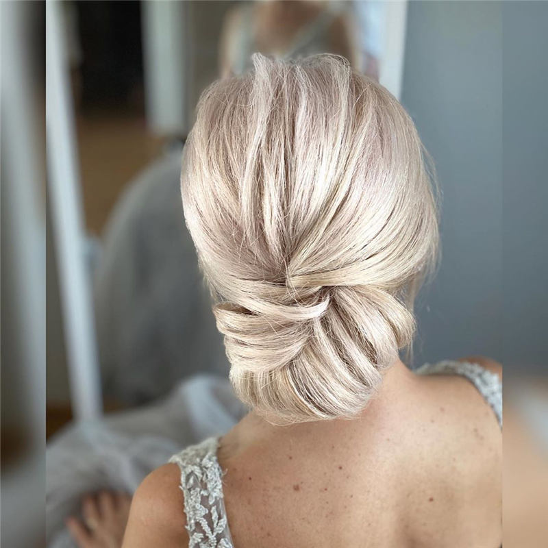 Beautiful Updos for Medium Length Hair 2020 03