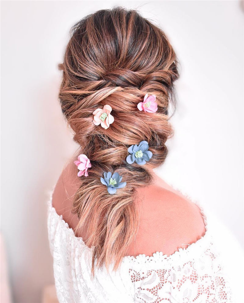Beautiful Updos for Medium Length Hair 2020 21