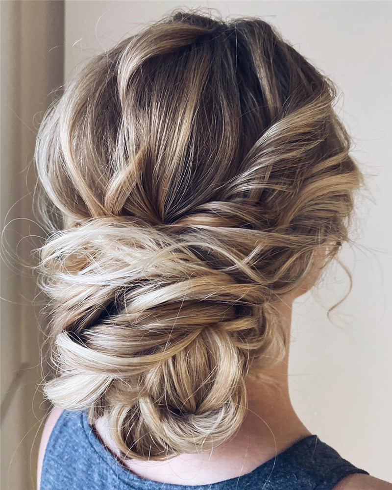 Beautiful Updos for Medium Length Hair 2020 40