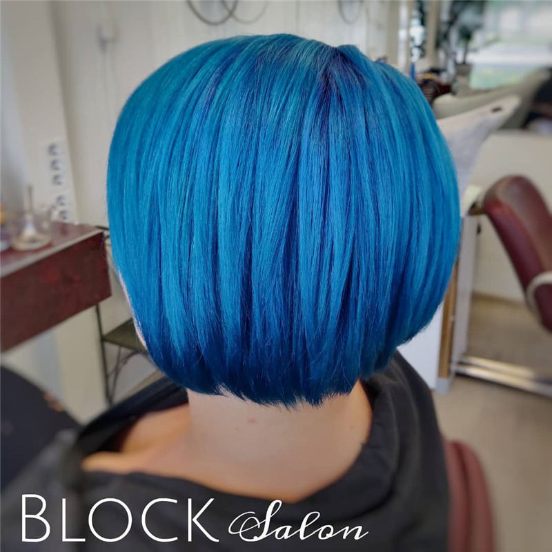 Coolest Trendy Hair Color for Short Hair 06