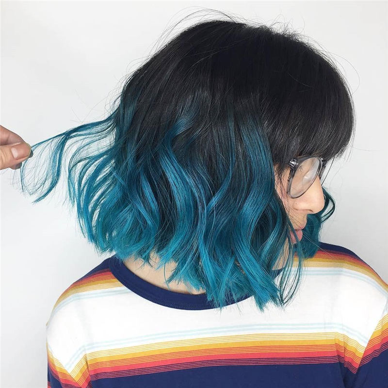 Coolest Trendy Hair Color for Short Hair 09