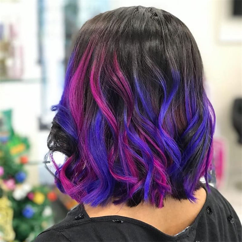 Coolest Trendy Hair Color for Short Hair 18