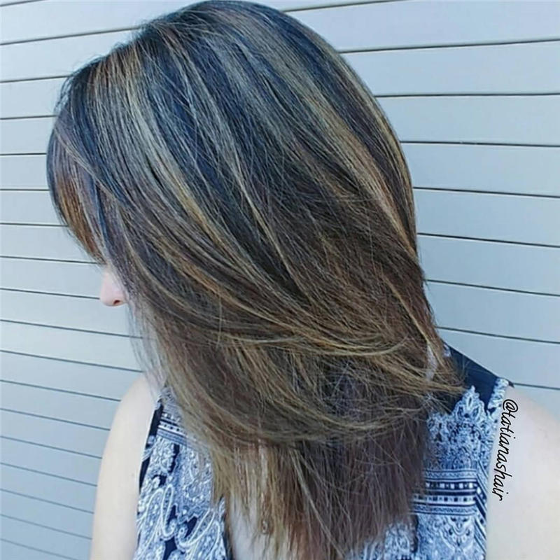 Cute Layered Hairstyles with Bangs for 2021 48