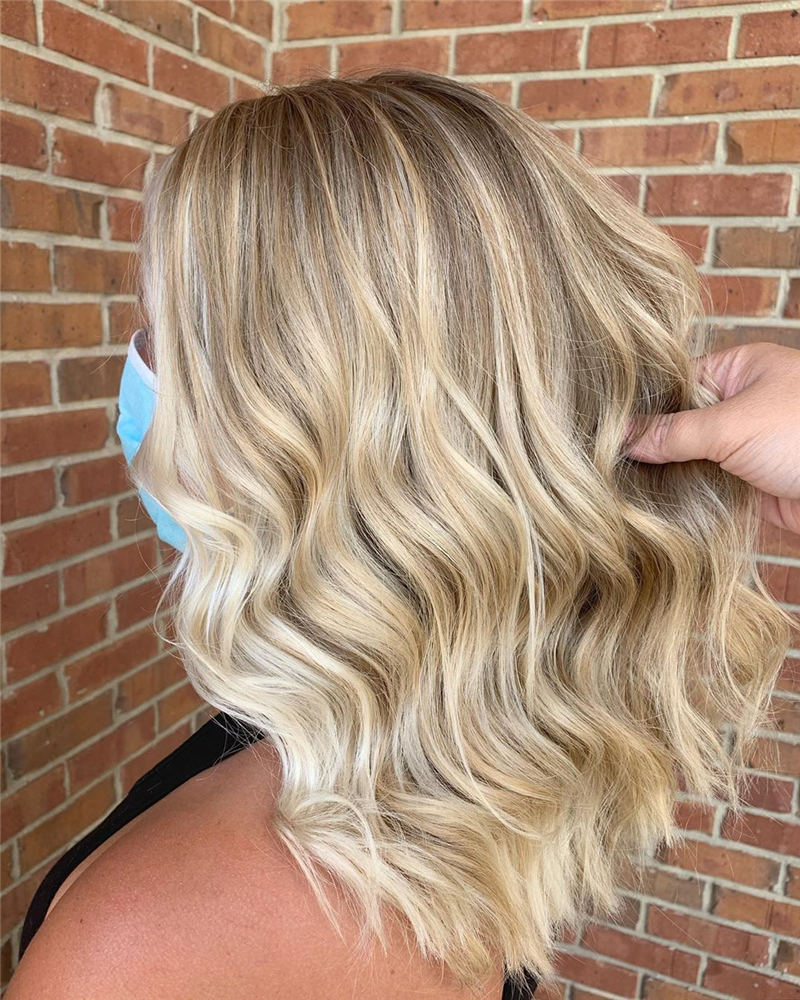 Perfect Medium Hairstyles for Thin Hair That Makes You Pretty 38
