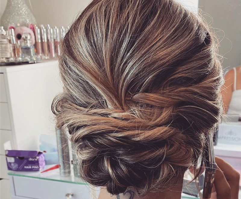 Stylish and Gorgeous Wedding Updos For Short Hair 25