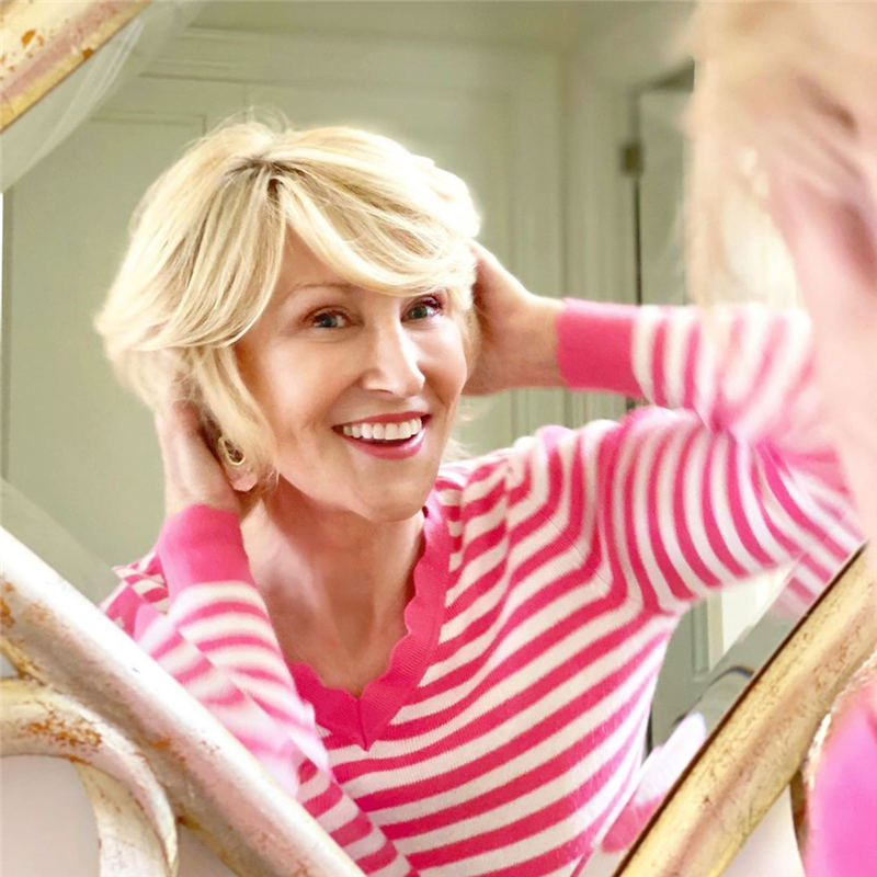 Trendy and Youthful Hairstyles and Haircuts for Women Over 50 04