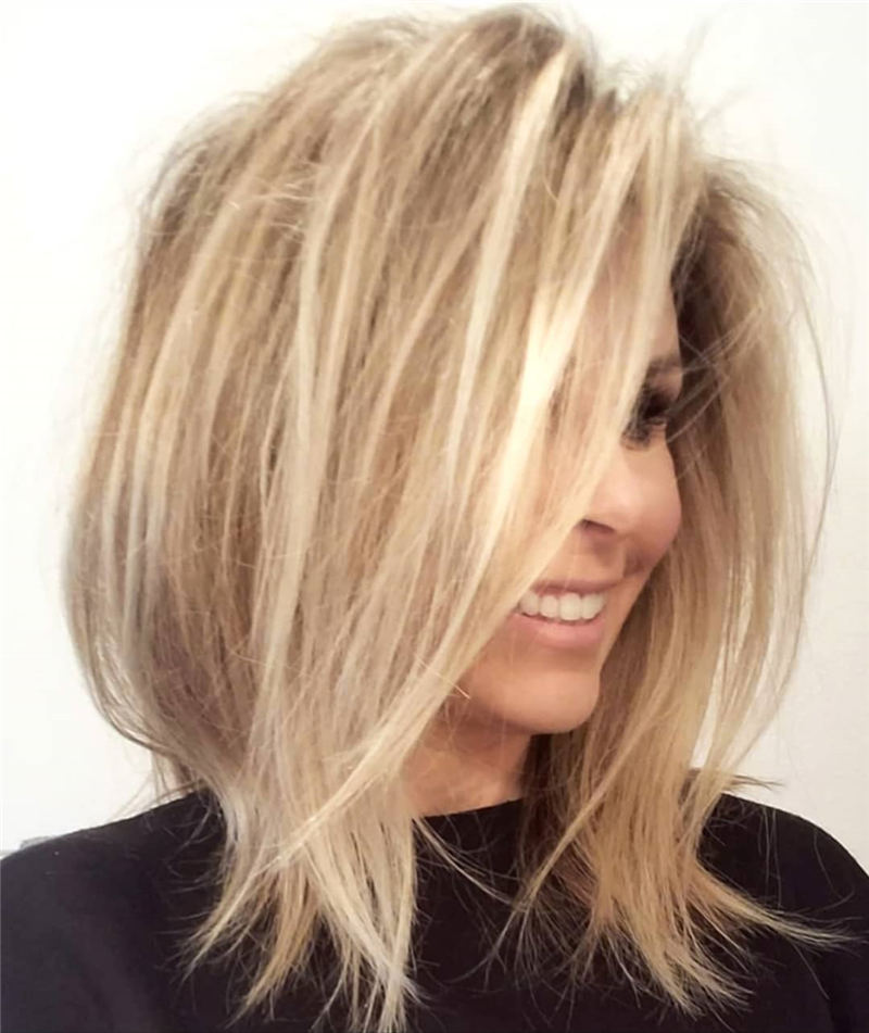 Trendy and Youthful Hairstyles and Haircuts for Women Over 50 16