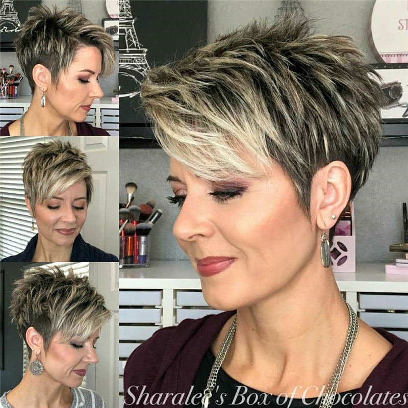 Trendy and Youthful Hairstyles and Haircuts for Women Over 50 23