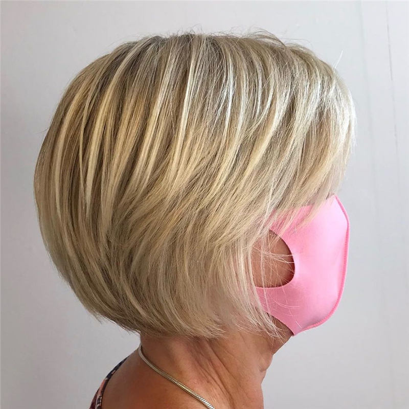 Best Short Layered Bob Haircuts You Cant Miss 12
