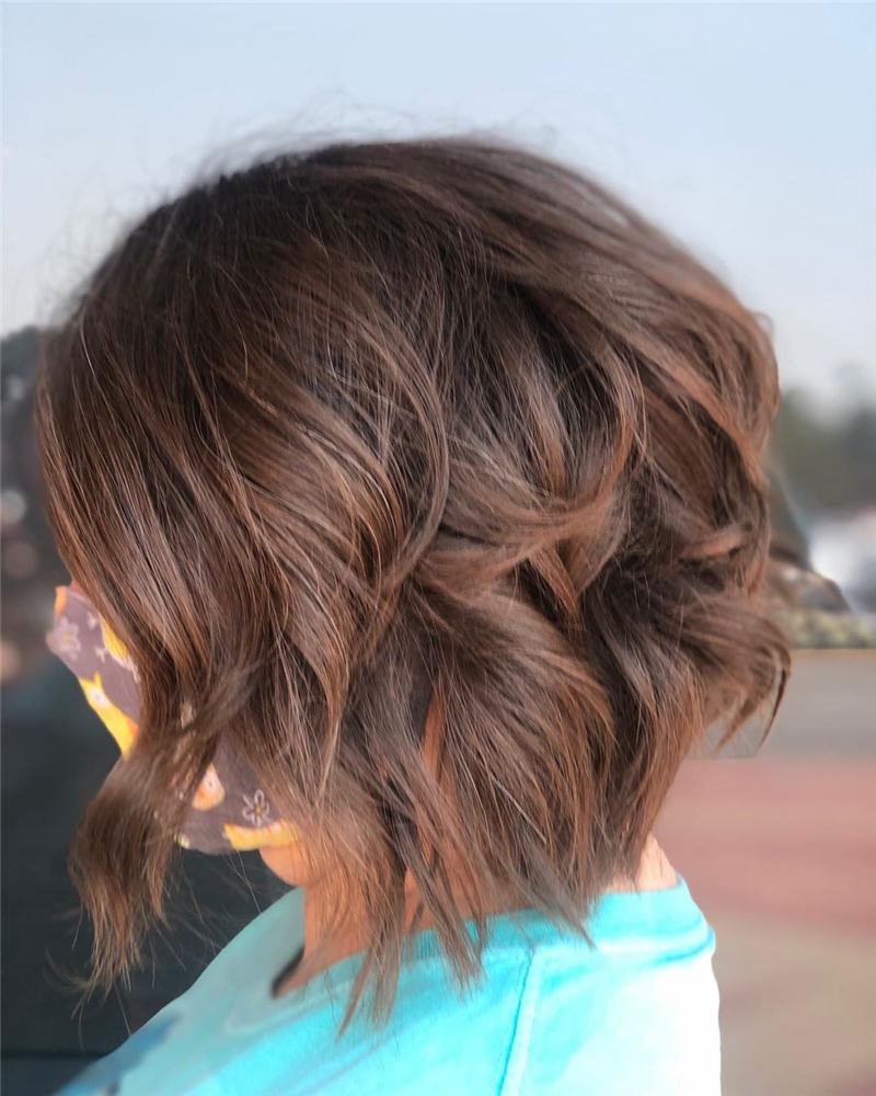 Best Short Layered Bob Haircuts You Cant Miss 15