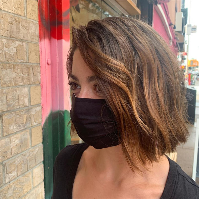Best Short Layered Bob Haircuts You Cant Miss 22