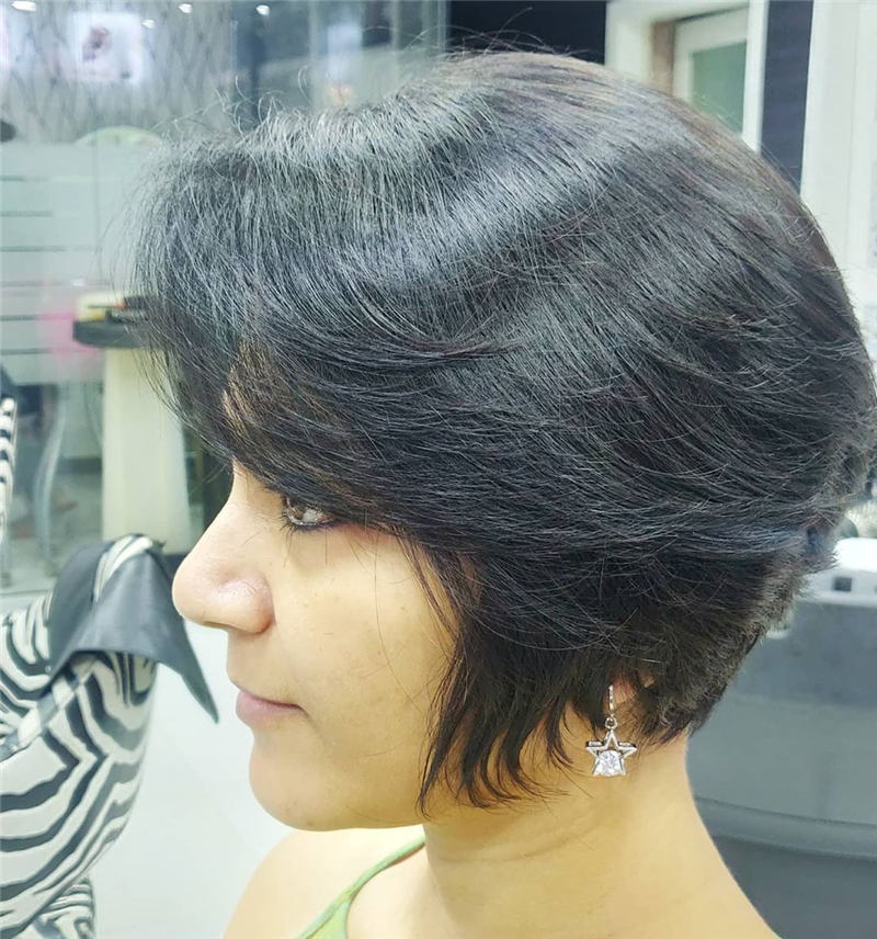 Best Short Layered Bob Haircuts You Cant Miss 25