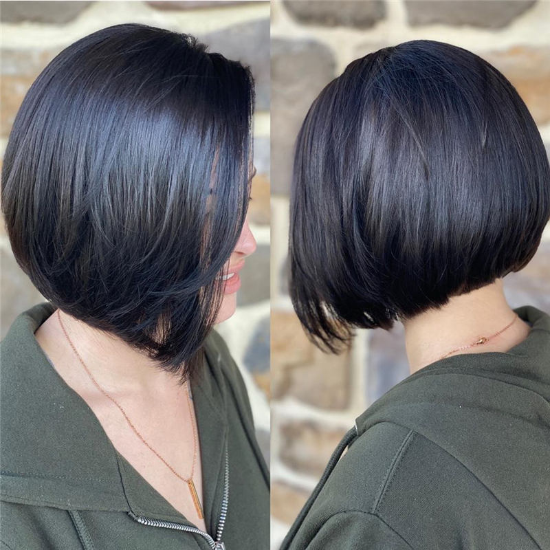 Best Short Layered Bob Haircuts You Cant Miss 29