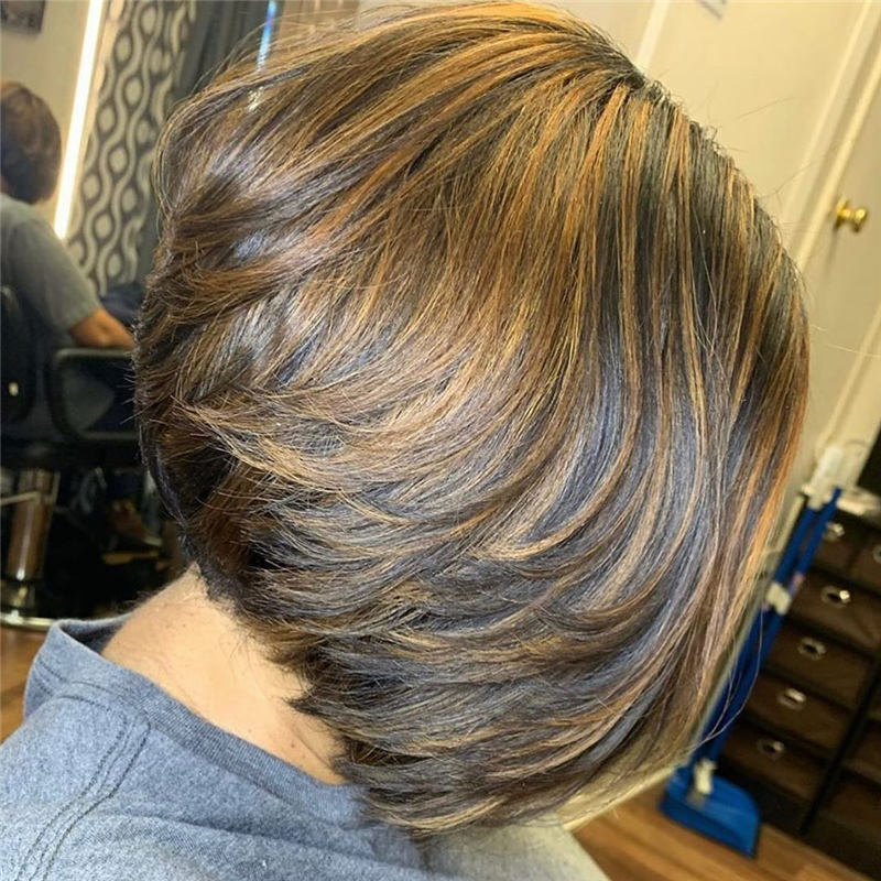 Best Short Layered Bob Haircuts You Cant Miss 34