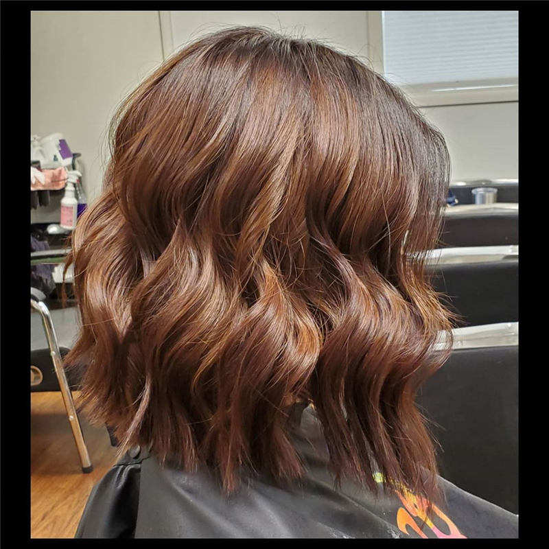 Coolest Short Brown Hair Colors to Look Gorgeous 02