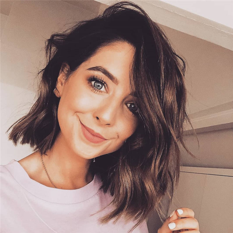 Coolest Short Brown Hair Colors to Look Gorgeous 06