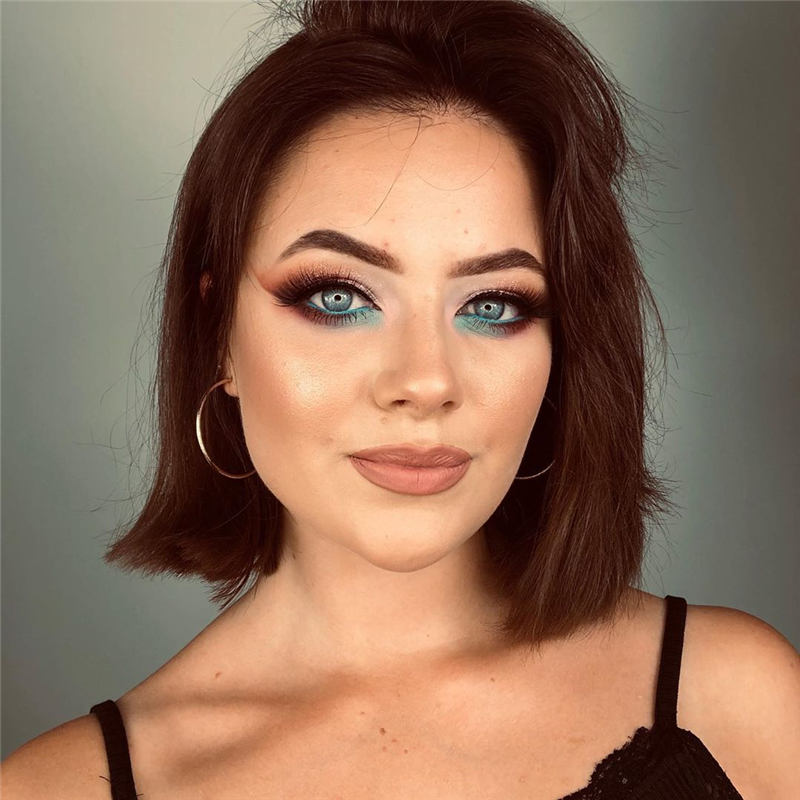 Coolest Short Brown Hair Colors to Look Gorgeous 14