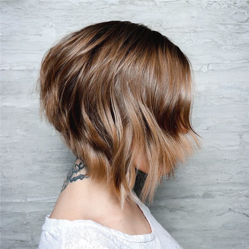 Coolest Short Brown Hair Colors to Look Gorgeous 29