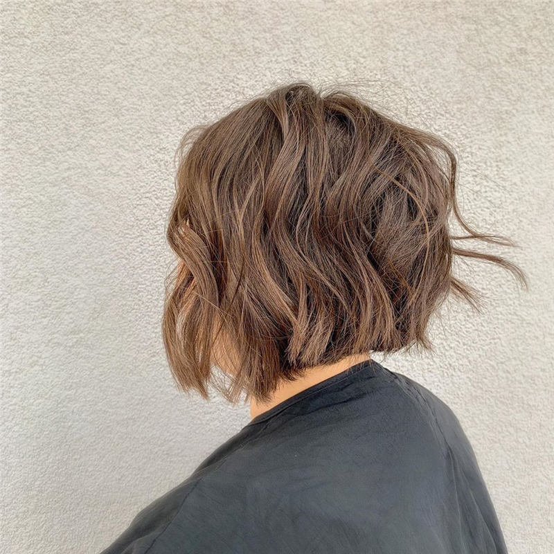 Coolest Short Brown Hair Colors to Look Gorgeous 38