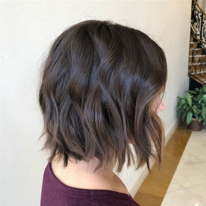 Coolest Short Brown Hair Colors to Look Gorgeous 40