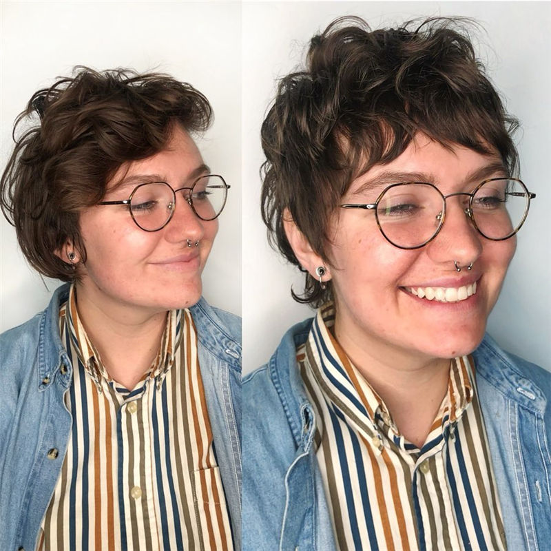 Coolest Short Shag Hairstyles That You Need to Try 14