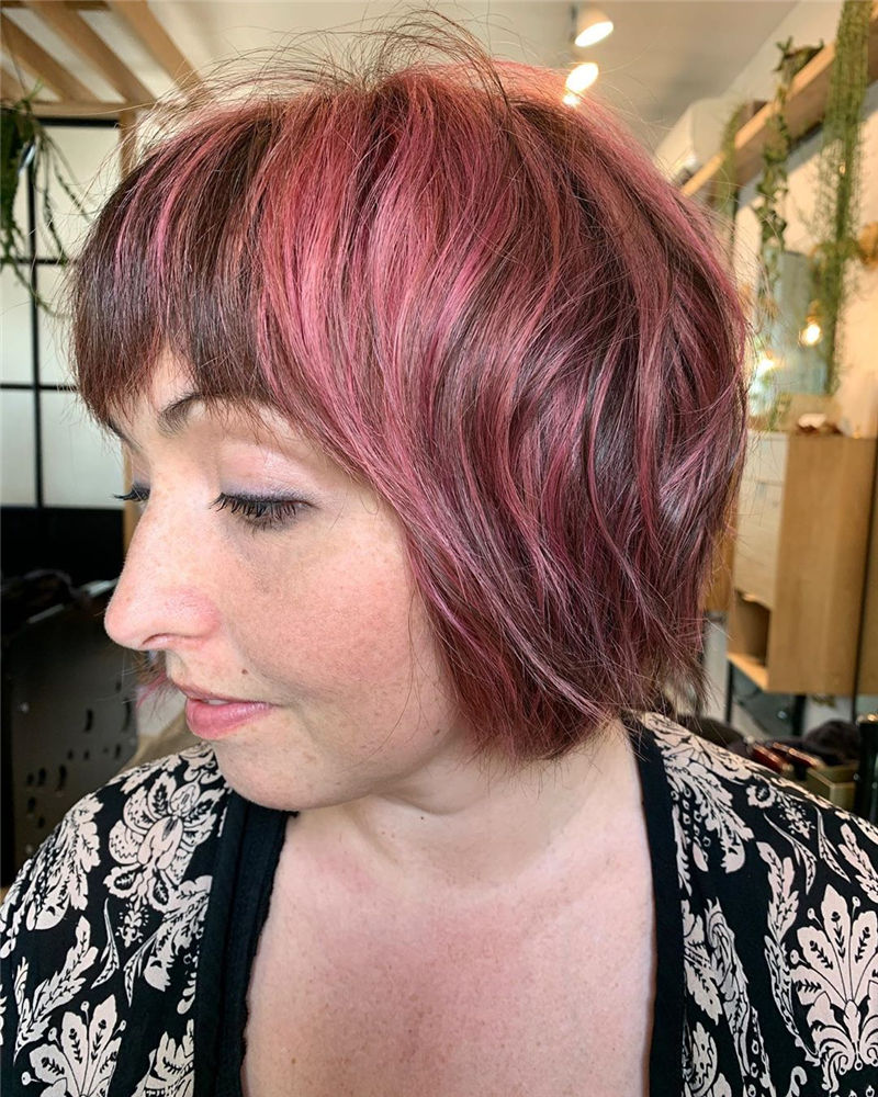 Coolest Short Shag Hairstyles That You Need to Try 35