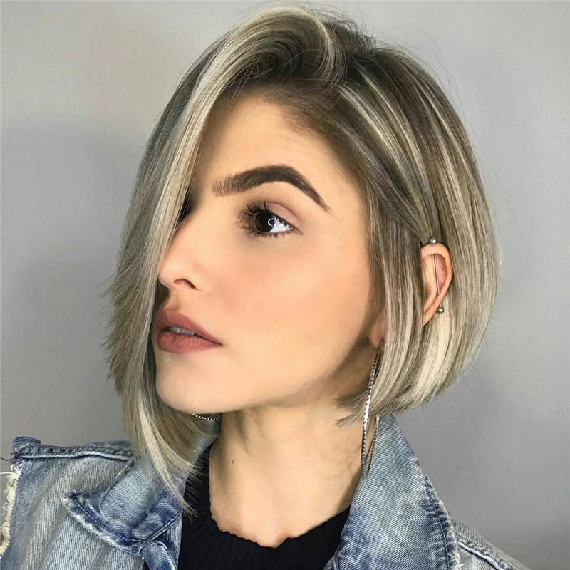 50 Trendy Inverted Bob Haircuts for Women in 2021 - Page 4 ...