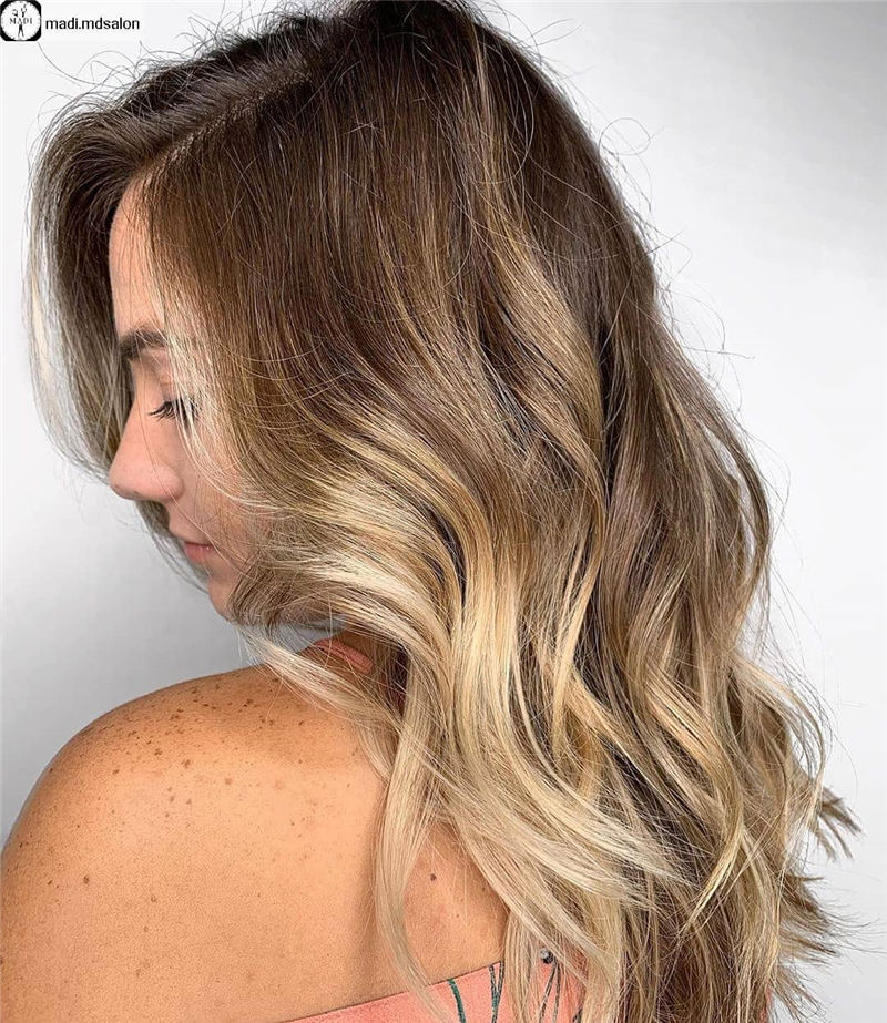 Amazing Layered Balayage Hairstyles That You Must Try 04