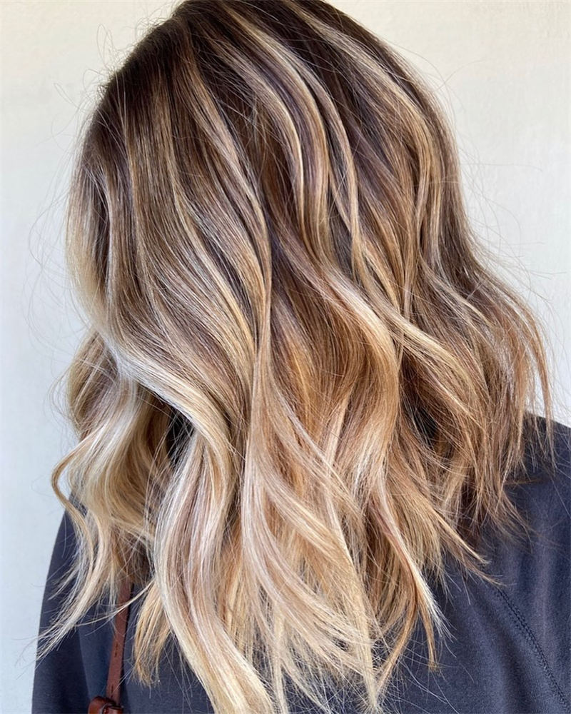 Amazing Layered Balayage Hairstyles That You Must Try 16