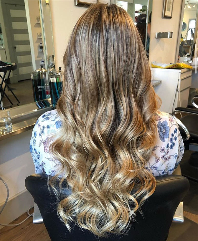 Amazing Layered Balayage Hairstyles That You Must Try 20