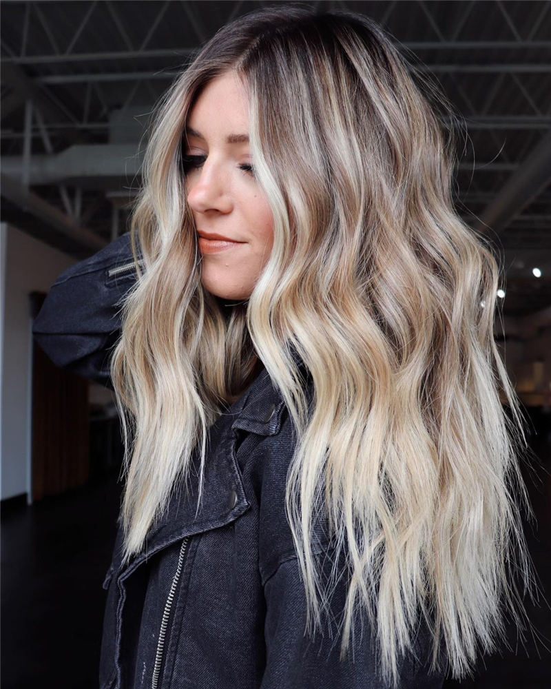 Amazing Layered Balayage Hairstyles That You Must Try 25