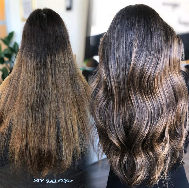 Amazing Layered Balayage Hairstyles That You Must Try 26