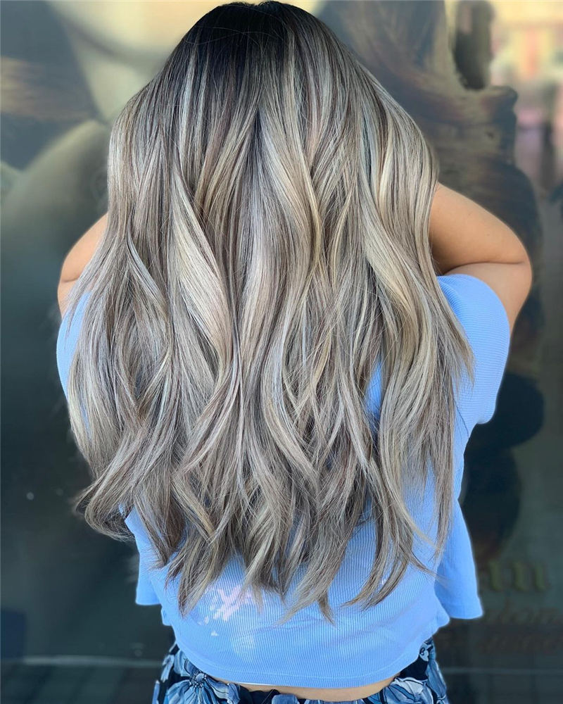 Amazing Layered Balayage Hairstyles That You Must Try 36
