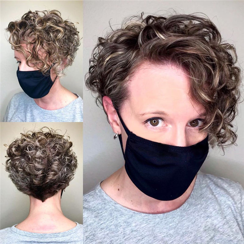 Best Curly Bob Hairstyles To Inspire You 07
