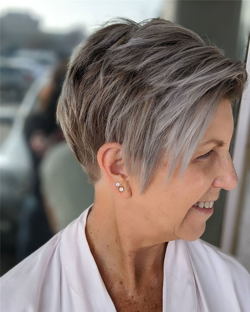 Best Pixie Haircuts for Older Ladies 07