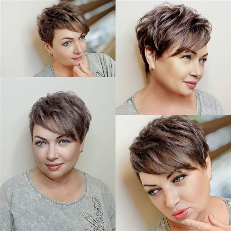 Best Pixie Haircuts for Older Ladies 46