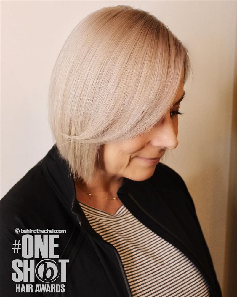 Best Short Haircuts For Older Women in 2020 08