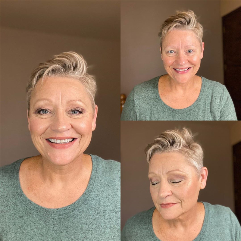 Best Short Haircuts For Older Women in 2020 13