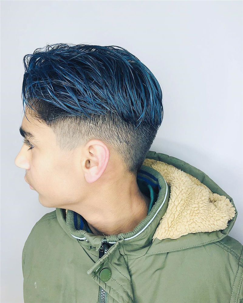 Coolest Hairstyles For Teenage Guys in 2020 25