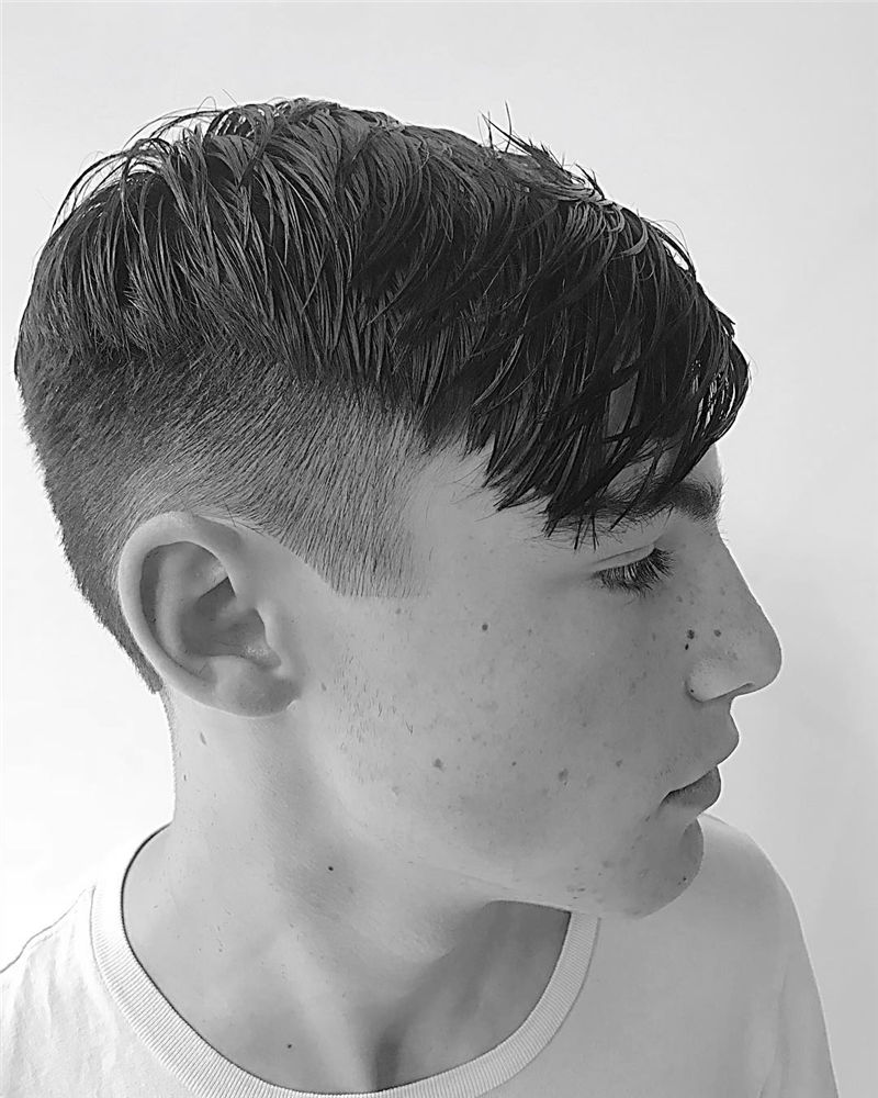 Coolest Hairstyles For Teenage Guys in 2020 32