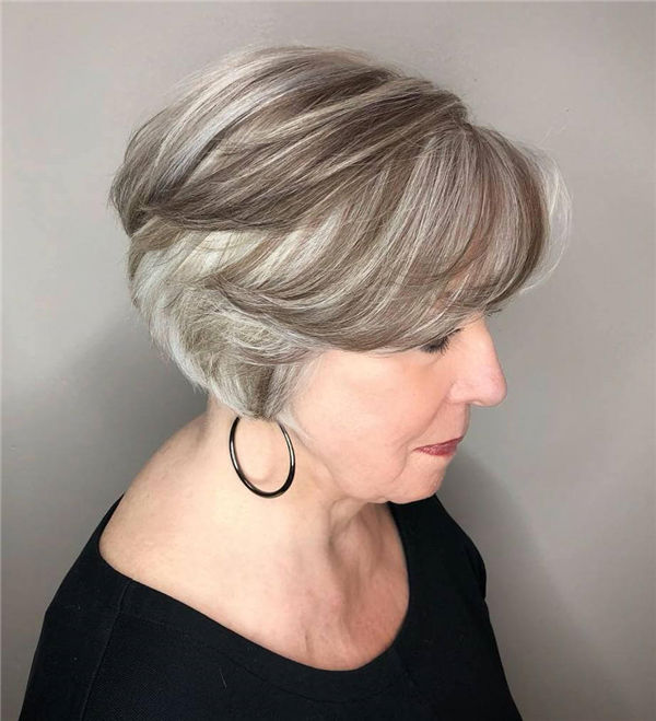 Haircuts Older Women over50