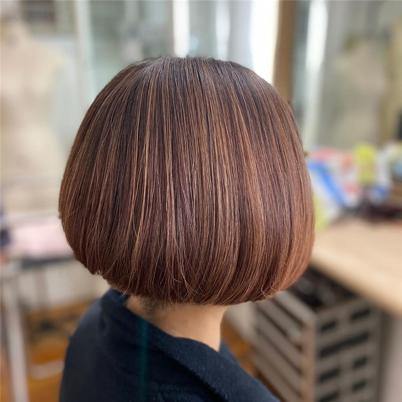 New Bob Haircut Ideas are Trending in 2021 19