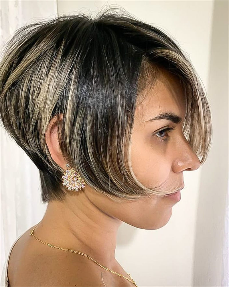 New Bob Haircut Ideas are Trending in 2021 26